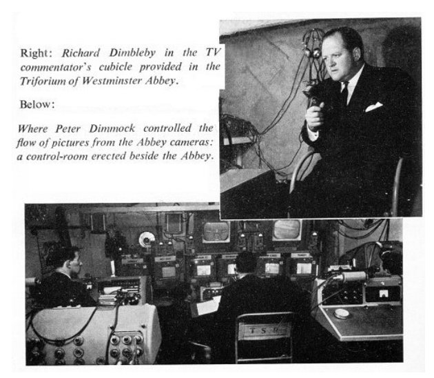 Richard Dimbleby at the Coronation