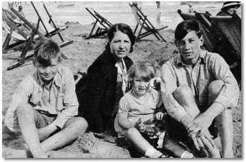Young Benny Hill and family