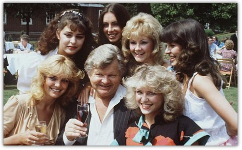 Benny Hill with some of Hills Angels