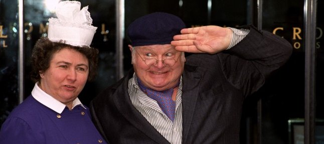 Benny Hill on being discharged from hospital.