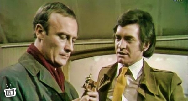 Edward Woodward and Patrick Mower in 'Callan'