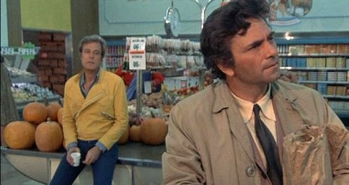 Robert Culp and Peter Falk