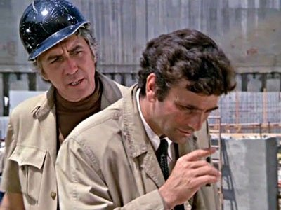Patrick O'Neal and Peter Falk