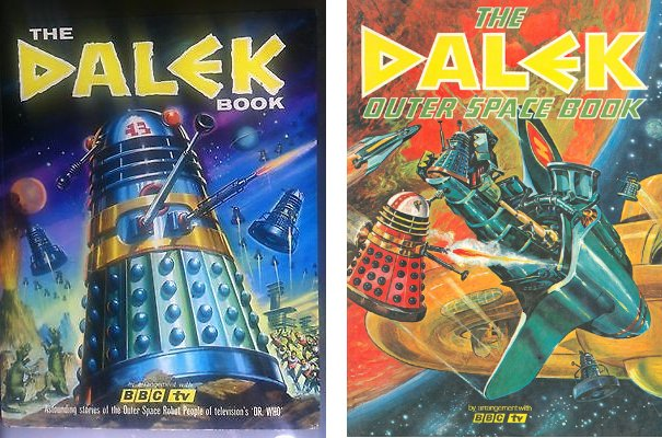 Two Dalek annuals from the 1960s