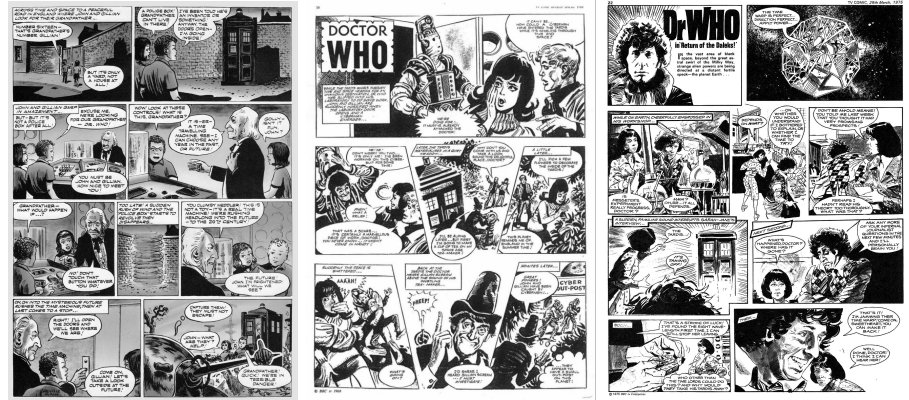 Doctor Who in TV Comic