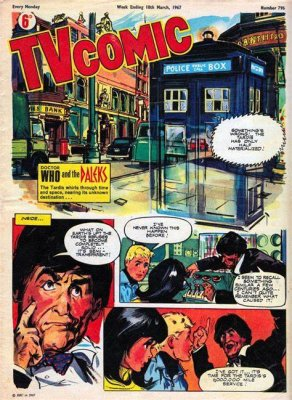Patrick Troughton as The Doctor in TV Comic
