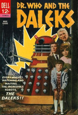 Dell's Doctor Who and The Daleks comic
