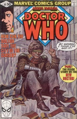 Marvel's American Doctor Who comic