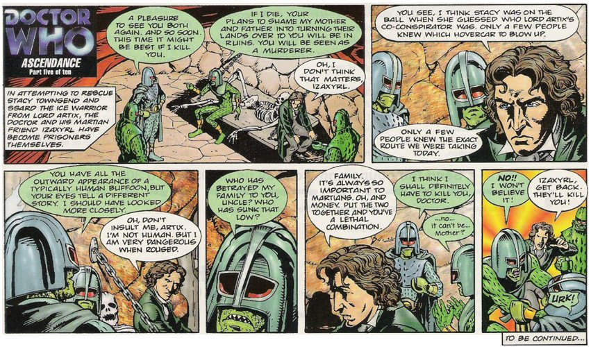 Radio Times' Doctor Who strip