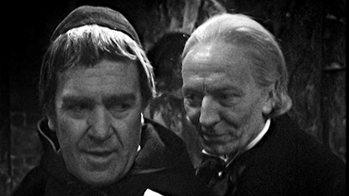 Peter Butterworth and William Hartnell