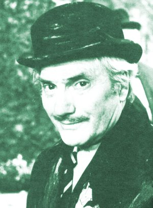 Dick Emery as the tramp, College
