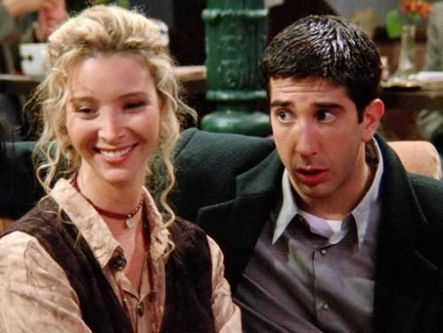 Phoebe and Ross - Friends