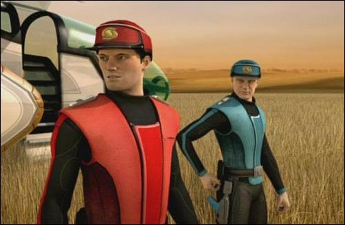 New Captain Scarlet