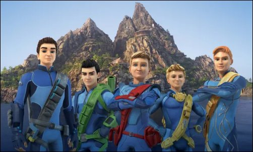 Thunderbirds Are Go - animated series