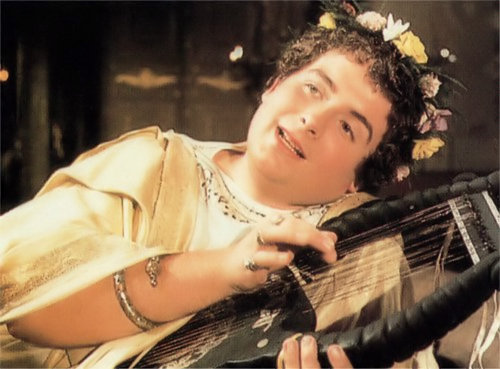 Christopher Biggins in 'I, Claudius'