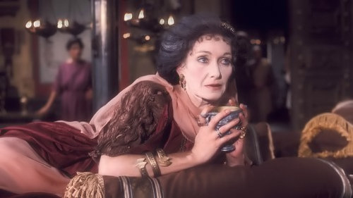 Sian Phillips in 'I, Claudius'