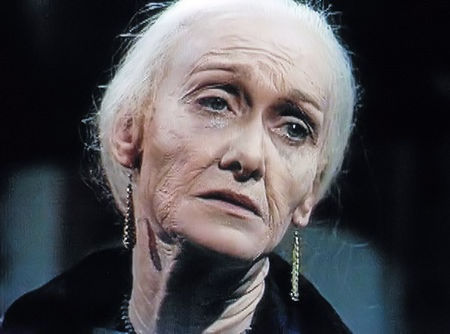 Sian Phillips is aged in 'I, Claudius'