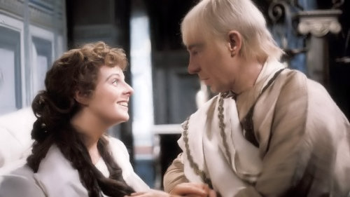 Sheila White and Derek Jacobi in 'I, Claudius'