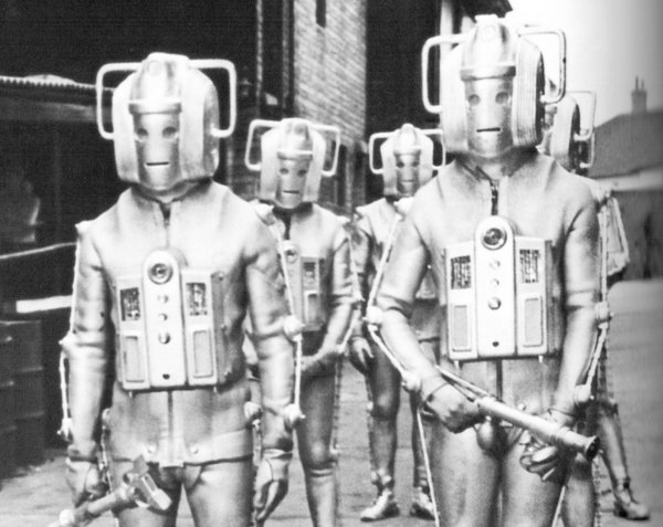 The new Cybermen design for The Invasion