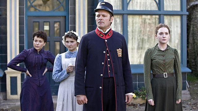 Mark Heap as postman Thomas Brown