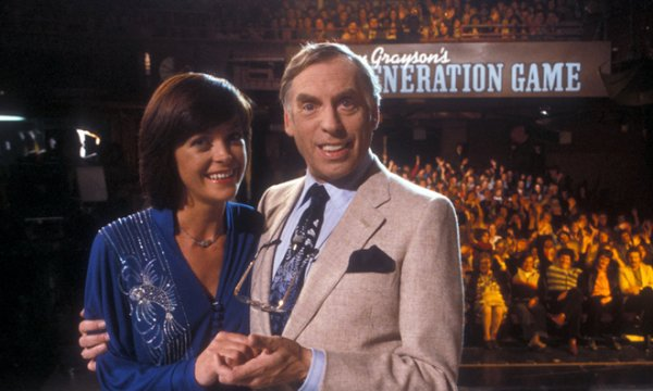 Isla St Clair and Larry Grayson