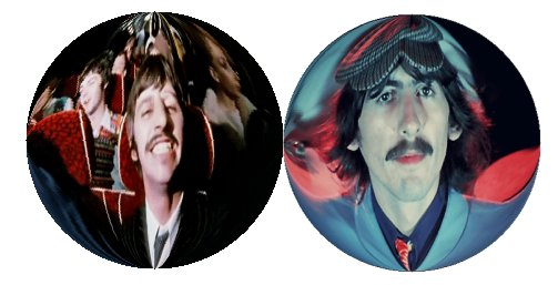Ringo and George - The Magical Mystery Tour