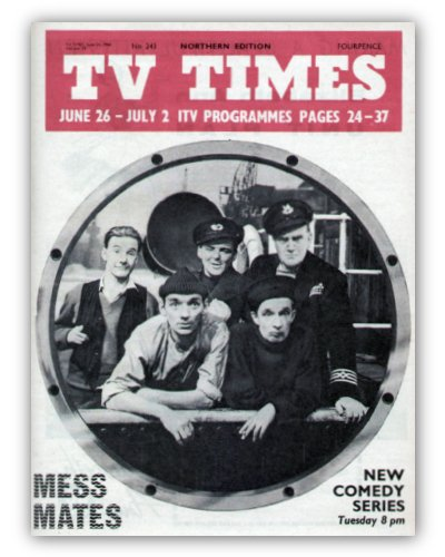 Mess Mates TV Times Cover