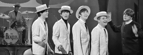 Morecambe and Wise with The Beatles