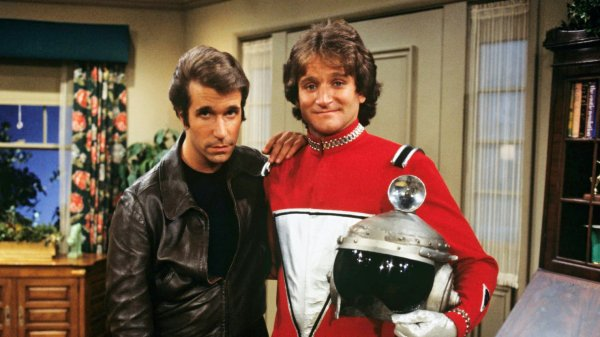 The Fonz and Mork