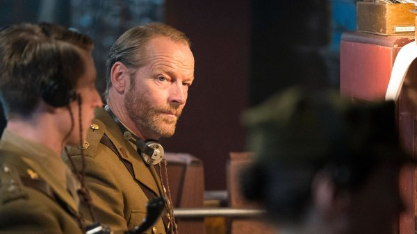 Iain Glen in Mrs Wilson