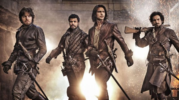 The Musketeers BBC TV series