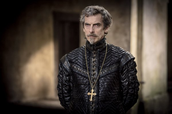 Peter Capaldi in The Musketeers