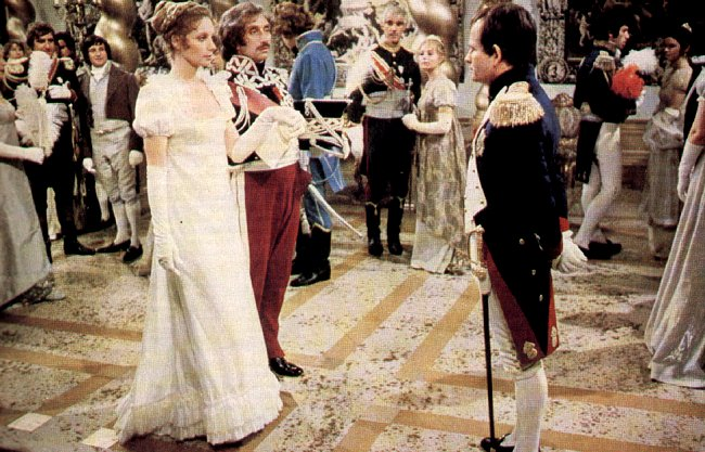 Catherine Schell and Ian Holm in Napoleon and Love