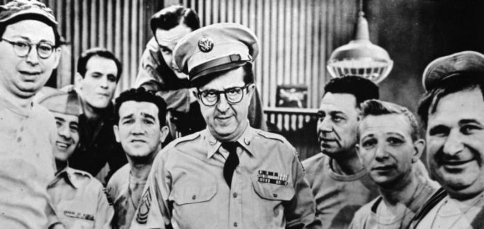 The castof The Phil Silvers Show