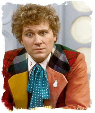 Colin Baker as The Doctor