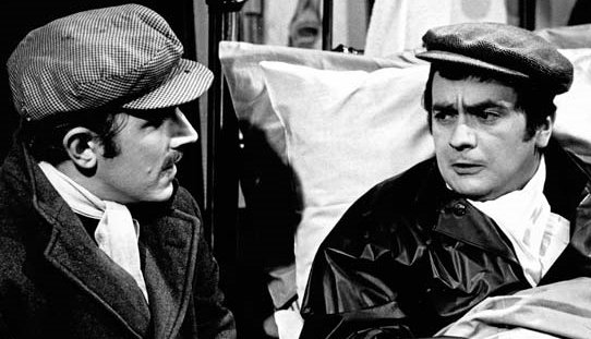 Peter Cook and Dudley Moore in Not Only...But Also...