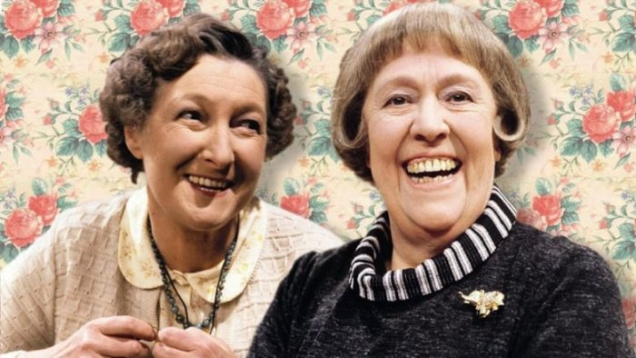 Pat Coombs and Peggy Mount