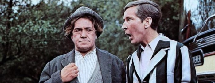 Peter Butterworth and Kenneth Williams