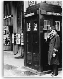 Policeman and Police Box