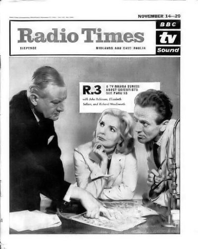R3 Radio Times cover 1964