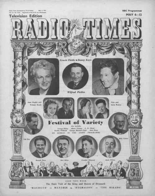 Radio Times cover May 6-12 1951