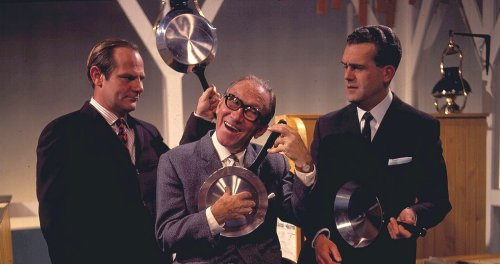 Sid and Dick with Arthur Askey