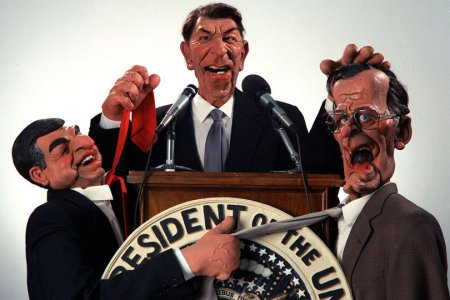 Spitting Image - Regan