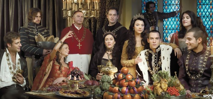 The Tudors cast