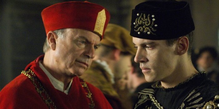 Sam Neill in 'The Tudors'